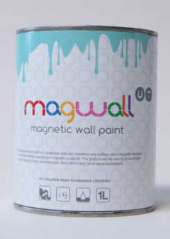 Magnetic Wall Paint